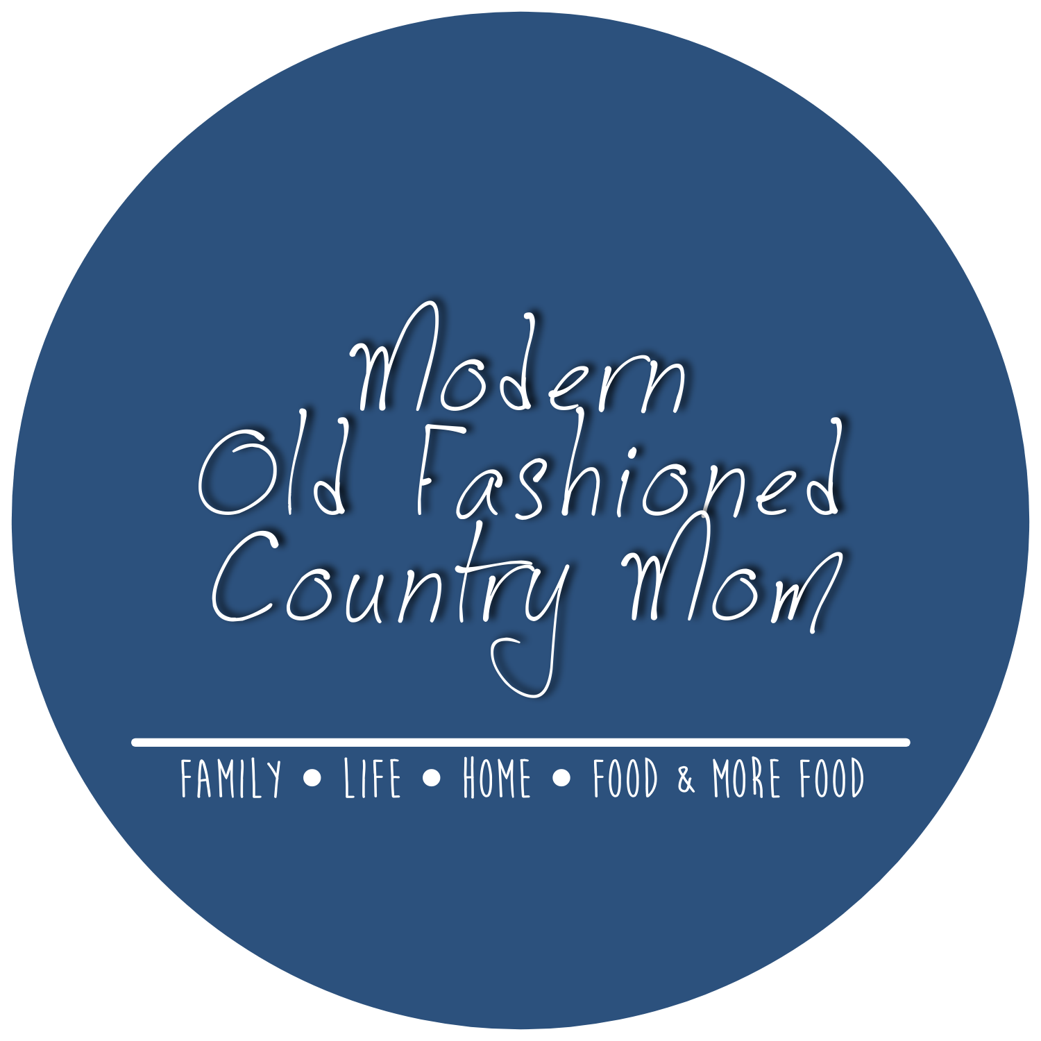 Modern Old Fashioned Country Mom
